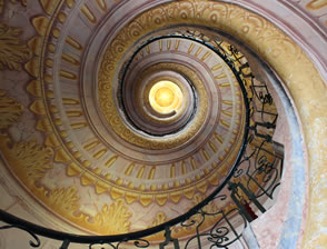 Spiral staircase by David Taylor