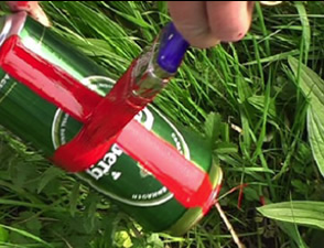 National Pride – an environmental intervention highlighting litter and our environment.